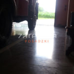 Posadzka betonowa w garażu