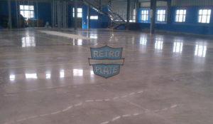 Beton polerowany Retro Plate, wykonawca: JB Associates, pow.: 6500 m2, zdj.: Paul Harshit