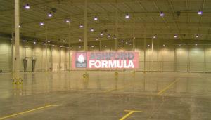 Impregnat Ashford Formula na posadzce Coca-Coli w Radzyminie