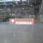 posadzka z Ashford Formula - hala Electrolux w Świdnicy