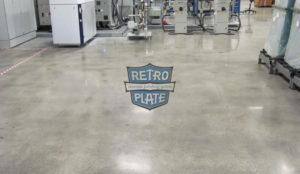 renowacja posadzki w systemie RetroPlate, wykonawca: Jim Sander Company, pow.: 10600 m2, zdj.: Barbara Mitchell