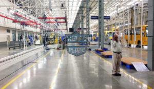 doszczelniona posadzka przemysłowa w systemie Retro Plate, wykonawca: JB Associates, pow.: 15000 m2, zdj.: Paul Harshit