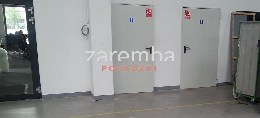 Posadzka przemysłowa w hali z częścią biurową