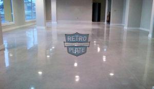 nowa posadzka przemysłowa z Retro Plate, wykonawca: ACTIVIDADES DE LA CONTRUCCION DE MALAGA, pow.: 1,200 m2