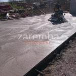 zacieranie zewnętrznej płyty betonowej